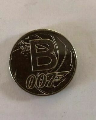 A-Z 10p Alphabet 10p COIN 2019  LETTER B For  007 JAMES BOND LATEST RELEASE 2019