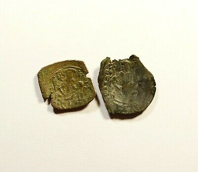 Michael VIII Palaeologus. 1261-1282 - ANCIENT BYZANTINE COIN - LOT OF 2