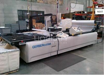 Gerber 5250 cutting system 2007 with drill and lateral drive w/tracks