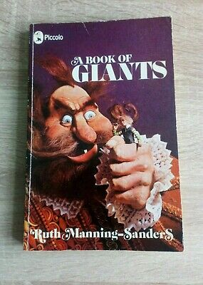 A Book Of Giants Vintage Piccolo Childrens Stories Paperback Book (1975)
