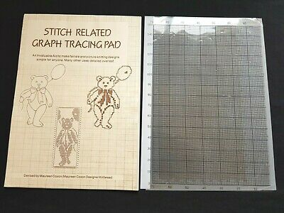 Pc233 Brother Electronic Knitting Machine Maureen Coxon Mylar Graph Trace Sheets