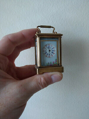 Miniature Carriage Clock working order