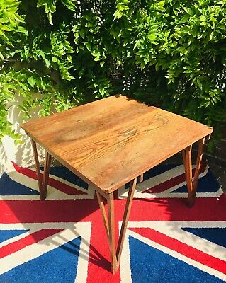19thC Military Campaign Folding Table By CAJAC