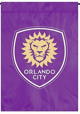 WinCraft Orlando City Soccer Club Flag 3x5 MLS Purple Skull and Crossbones