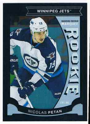 2015-16 O-Pee-Chee Rainbow Update Black Nicolas Petan Rookie 096/100 Winnipeg