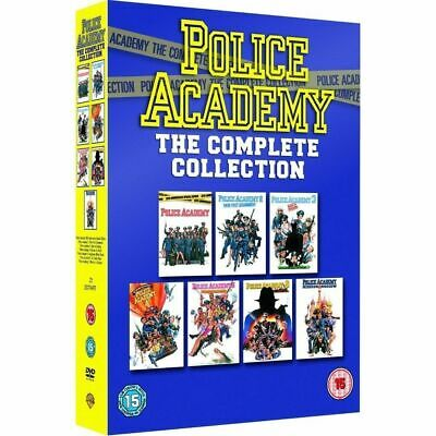 Police Academy: The Complete 1-7 Collection (DVD 7 DISC BOX SET, 1994) *NEW*