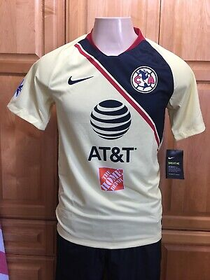 ecd5cad39 Nike Club America Official 2018-2019 Home Soccer Football Jersey size Large