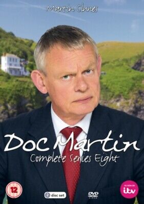 Doc Martin: Complete Series Eight (DVD 2 DISC BOX SET, 2017) *NEW/SEALED*