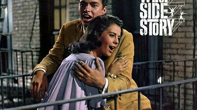 16mm  film WEST SIDE STORY w/Natalie Wood.  10 Academy Awards!
