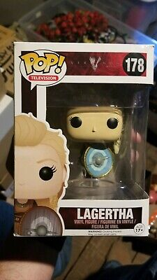 Funko POP Lagertha Vikings Pop Television Show #178 Vaulted RARE