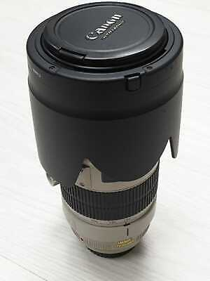 Canon EF 70-200mm F2.8 L IS  USM II Zoom Lens With Both Caps and Hood Excellent
