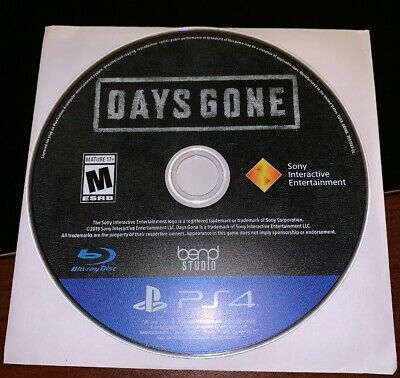 Days Gone (PlayStation 4, PS4) *Disc Only, Excellent Condition*