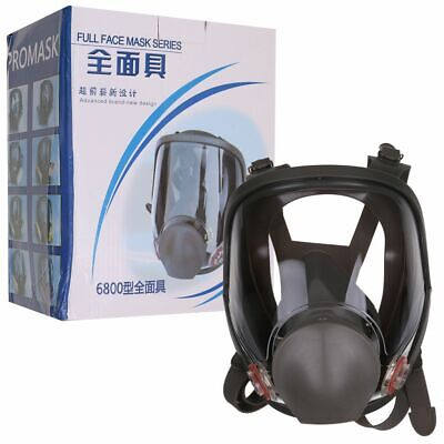 Full Face Anti Dust Gas Mask Facepiece Respirator For 3M 6800 Painting Spraying