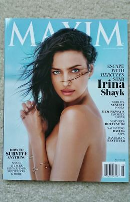 IRINA SHAYK Maxim Magazine JULY/ AUGUST 2014