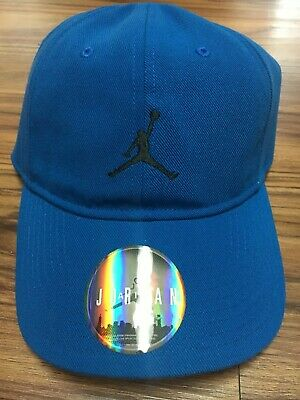 a838e20187009 NIKE AIR JORDAN Jumpman Adjustable Hat Heritage 86 847143-455 Royal ...