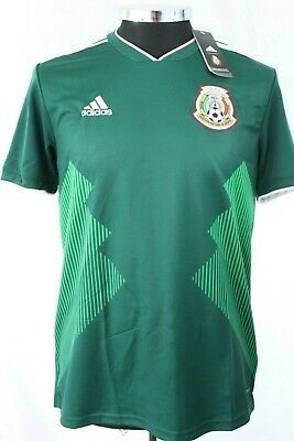 22866faaa97 ADIDAS 2018 WORLD Cup Mexico Home Jersey Green Mens Size Small ...