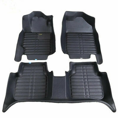 For 4 door Honda Civic Car Floor Mats Carpet Auto Mat All Weather Waterproof 02