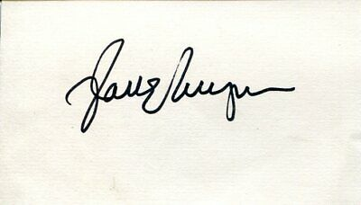Jane Wyman The Yearling Johnny Belinda Stage Frigh Falcon Crest Signed Autograph