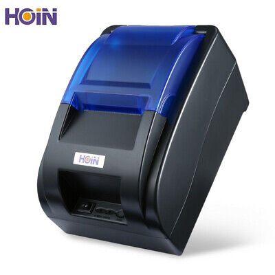 HOIN 58mm USB Connection Thermal Line Printer Bill ESC POS Printer for Store
