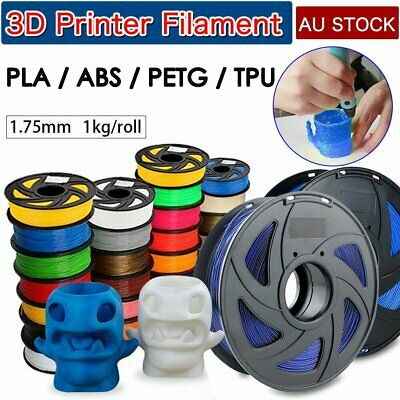 3D Printer Filament Highly-Accuracy PLA PLA+ ABS PETG 1.75mm 1Kg/Roll AU Sydney