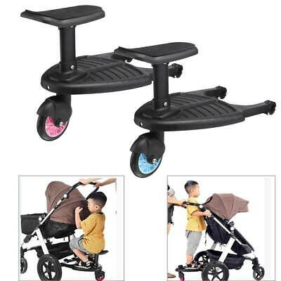 Kids Children Buggy Board Wheeled Pushchair Stroller Step Board Load Up To 25kg