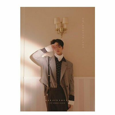 HARD TO SAY GOODBYE by BAE JIN YOUNG The 1st Single Album WANNA ONE