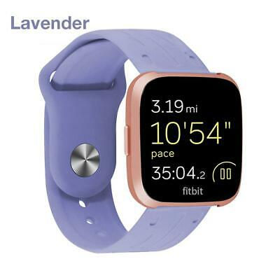 Replacement Silicone Watch Wrist Sports Band Strap For Fitbit Versa  Bracelet
