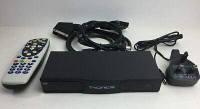 TVONICS FREEVIEW Digital TV Receiver Set Top Box w/ Remote MDR-252 FACTORY RESET