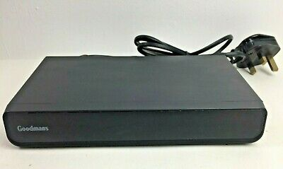 Goodmans GD11FVZS2 DVB Freeview Digital TV Set Top Box TWIN SCART - No Remote