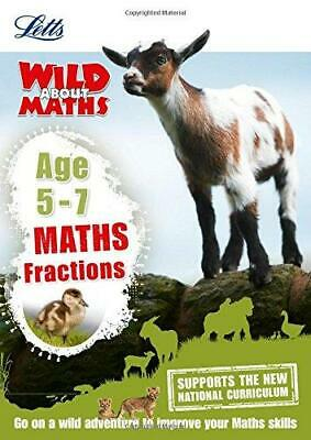 Maths - Fractions Age 5-7 (Letts Wild About) by Letts KS1 (Paperback, 2016)