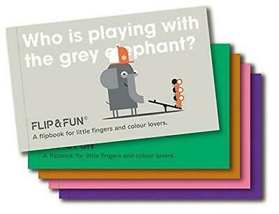 FLIP&FUN: Animal Boxset: A flipbook for little fingers and colour lovers by...