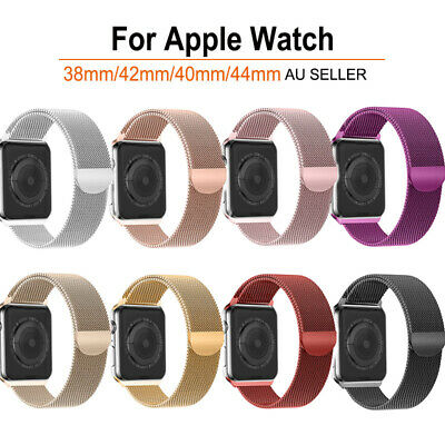Milanese Wrist Watch Band Strap Magnetic Loop For Apple Watch iWatch Full Series
