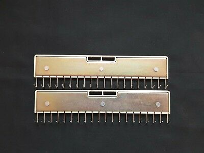 Brother Silver Reed Knitting Machine Part Tools Lace Carriage Claw Weights X2