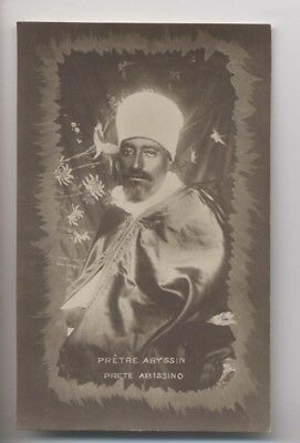 PRÊTRE ABYSSIN - Ethiopie - Abyssinie - Carte Photo - Rare