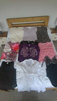Maternity Summer Bundle 10/12 - Great condition - Tops + Swimming costume