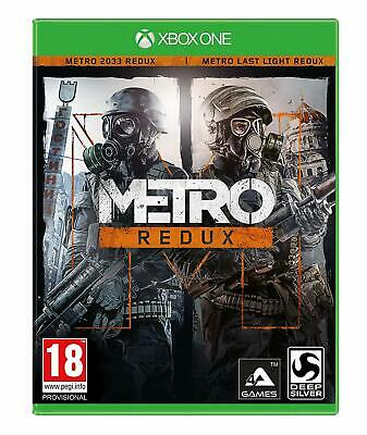 Metro Redux (Xbox One) MINT - QUICK DISPATCH - Super FAST & QUICK Delivery FREE