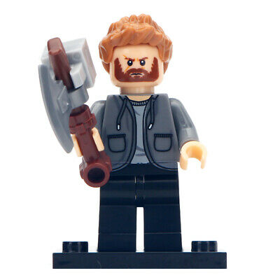 Lego Custom Thor v2 (Avengers: Endgame) MiniFigure - Marvel Toy for Kids