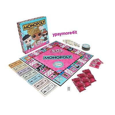 NEW LOL Surprise Monopoly Game: L.O.L. Surprise! Edition Board Game for Kids