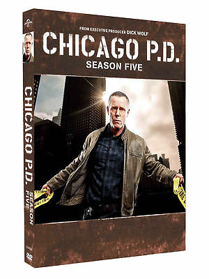 Chicago PD Season 5 Five DVD Brand New Sealed Quick & Fast Postage
