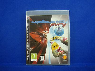 *ps3 WIPEOUT HD FURY (NI) Classic Wipe Out REGION FREE Pal English