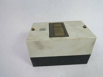 """Condor KG-EDNS Enclosure for MSM Motor Starter 5-5/8""""L 3-5/8""""W 2-5/8""""H  USED"""