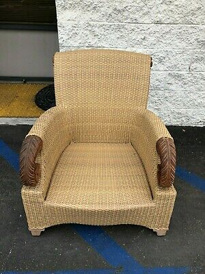 Tommy Bahama Wicker Lounge Chair Thailand