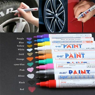 Paint Pen Marker Colours for Car Tyre Tire Metal Permanent Metal Rubber Glass