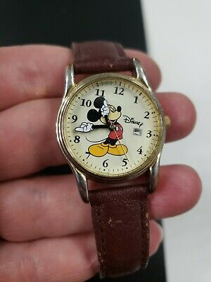 Estate Vintage Disney Mickey Mouse Watches Needs New Battery