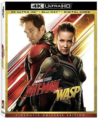 Ant-Man and the Wasp (4k Ultra HD/Blu-ray) w/ Slipcover (No Digital)