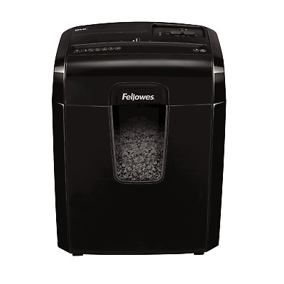 Fellowes Powershred 8Mc, 8 Sheet Micro-Cut Personal Paper Shredder with Safety
