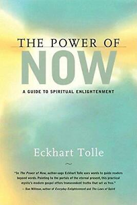 The Power Now: A Guide to Spiritual Enlightenment by Eckhart Tolle (Hardback,...