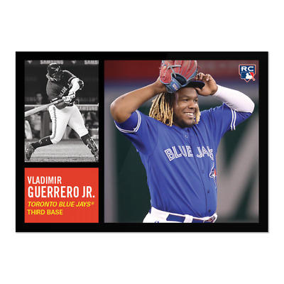 2019 Topps Throwback Thursday TBT Set 20 #115 Vladimir Guerrero Jr RC Blue Jays