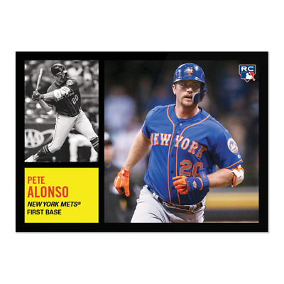 2019 Topps Throwback Thursday TBT Set 20 ~ #117 Pete Alonso RC New York Mets