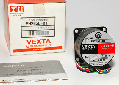VEXTA PH265L-01 2 PHASE NEMA 23 STEPPER MOTOR 1.8° Step, Stepping